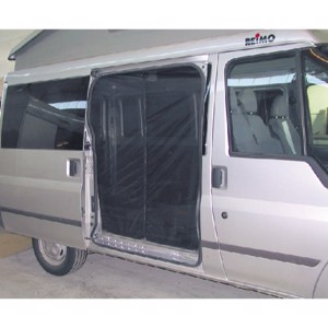 Mosquito net for Ford sliding door for models from 2001 to 2006