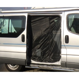 Mosquito net for Renault Trafic/Opel Vivaro, for sliding door opening