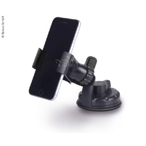 Universal navigation-/mobile phone holder, black