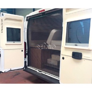 Mosquito net Ducato from year 07 rear, H2/H3-roof with high door