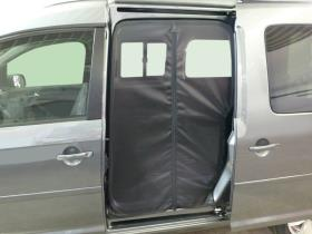 VW Caddy sliding door mesh
