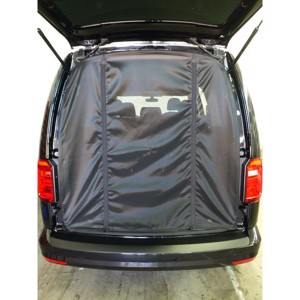 VW Caddy tailgate netting
