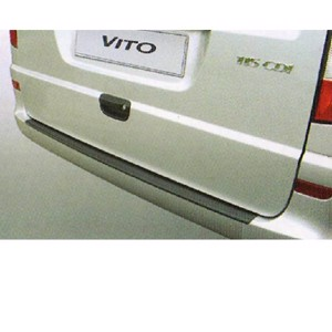 Bumper protection for Mercedes Vito/Viano from 2003 with painted bumper