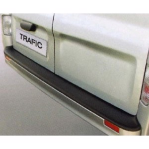 Bumper protection for Renault Trafic and identical with painted bumper