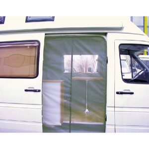 Mosquito net for sliding door - DB-Sprinter + VW-Crafter 2007 and newer