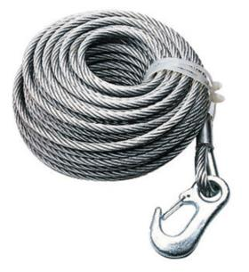 Rope 20m f. Alko winch article number 46602, Optima 900kg