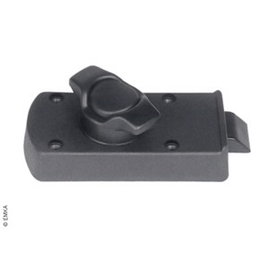 Inner lock polyamide GF black, ball stainless steel for outer handle