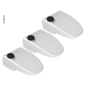 Door lock outside Safe Door 3 pcs. white