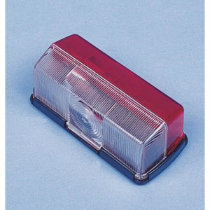Clearance light red/white 92 x 43 x 37 mm