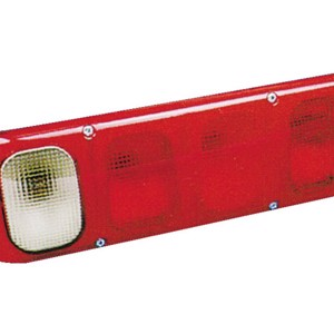 Jokon indicator, brake and tail light left with rear fog light