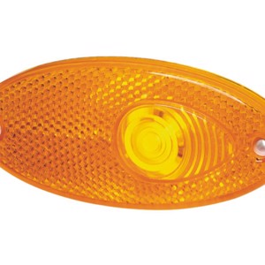 Recessed side marker light