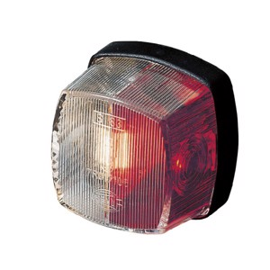 Outline marker light red/white