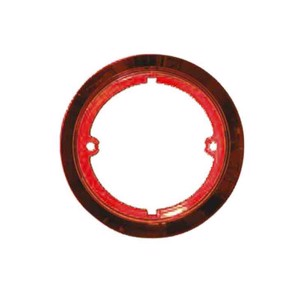 decorative ring 122mm red