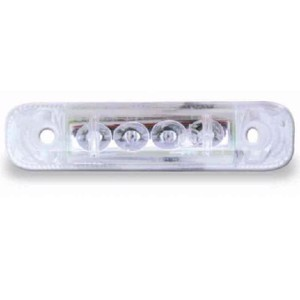 LED-front-light, 12 Volt, 0,5 Watt