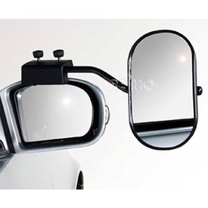 Caravan mirror for attaching to the Ducato exterior mirror on the right