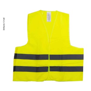 Warning vest yellow rule in Spain and Portugal