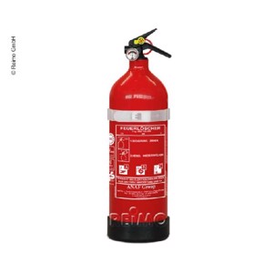 ABC fire extinguisher 2kg with pressure gauge