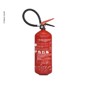 ABC fire extinguisher 6kg with pressure gauge