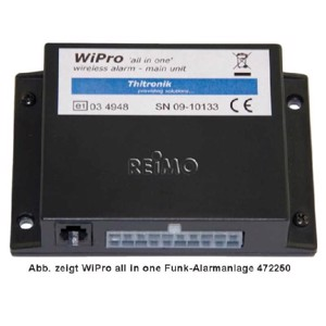 "Wireless alarm WiPro ""all in one"" as pre-assembled installation kit For Iveco Da"