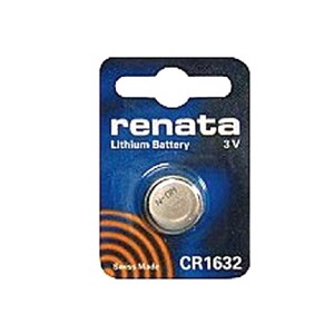Replacement battery for sensor type CR 1632