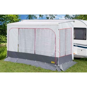 Curtain for front wall Fiamma Caravanstore 410 white - for 47565