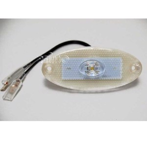 LED marker light, 12V, 1W, limpid, 200 mm