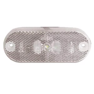 LED marker light, 12V, 0,6W, limpid, 100 mm