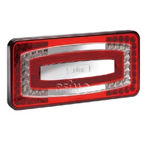 LED multifunctional light, 9-32V, red, 500 mm