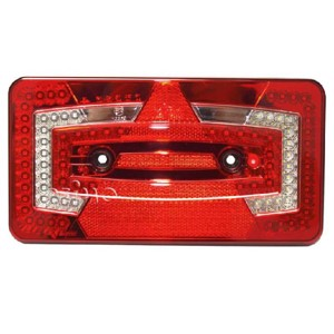 LED-multifunctional light, 9-32V, right, red