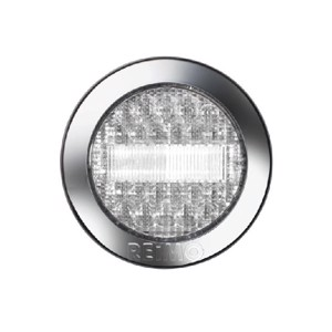 LED reversing light 12V, 3W, limpid IP67 500 mm cable