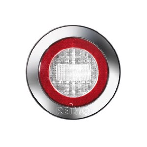 LED reversing light with reflector 12V, 3W