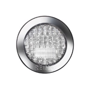 LED fog/ reversing light 12V, 3/4W, limpid IP67