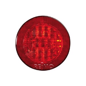 LED fog light with reflector 12V, 3W, red
