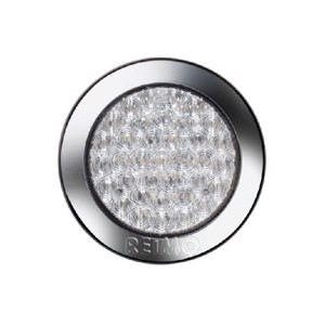 LED fog closure 12V, 4W IP67 500 mm cable clear