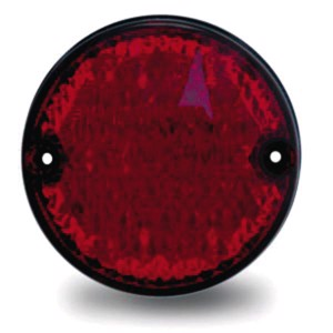 LED brake tail light 12V, 3/3/0,3W IP67 500mm cable