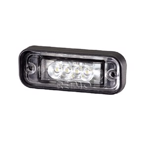 License plate light 12 V