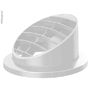 High air vent 30° for auxiliary heating. Airtronic D2, Ø50/60mm, white