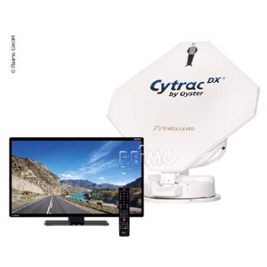 Cytrac® DX Twin Premium Sat-Anlage inkl.21,5'Oyster® TV