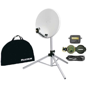Maxview Portable Sat-Kit Light - 54cm Mirror with Tripod