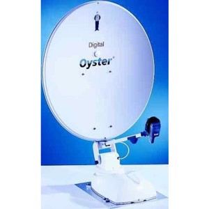 Satellite system Oyster-85 digital CI Ø 85 cm with fully automatic rotating sate