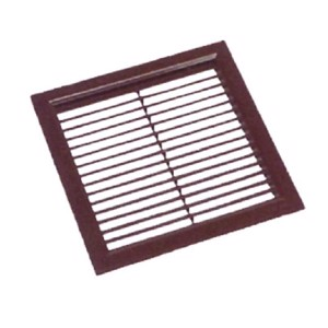 Square air inlet grille