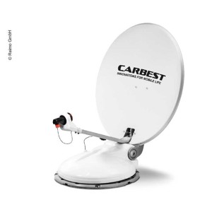 Carbest Camping Satellite System Travelsat 2, 68cm with Bluetooth and TWIN