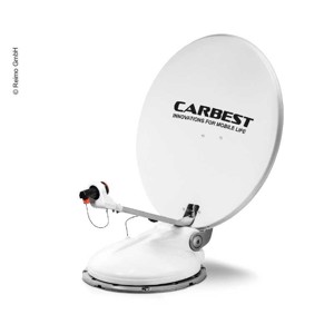 Camping Satellite System Travelsat 2, 80cm, with Bluetooth and Skrew