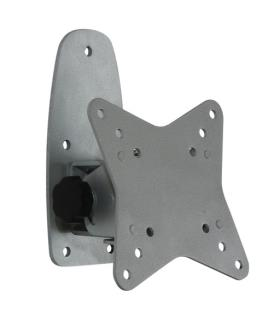 TFT-wall holder silver, can be tilted and is adjustable