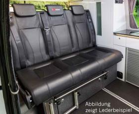 Sleeping bench VW T6/5 Trio Style V3000 size 10 3-seater poster leather Trio Sty