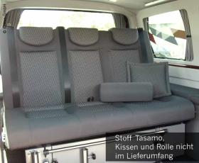 Sleeping bench VW T5 Trio Style V3000 size 10 3-seater Tasamo T5,2 heat diver