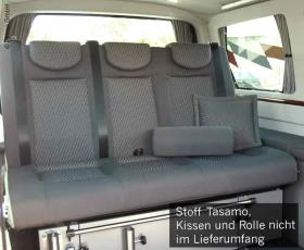 VW T6, VW T5 CityVan rock and roll bed Variotech 3000, size 14, design Tasamo T5