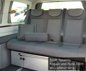VW T6, VW T5 rock and roll bed V3000, size 14, Tasamo T5, right-hand drive