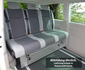 VW T6, VW T5 rock and roll bed Variotech 3000, size 17, three-seater, Austin T6