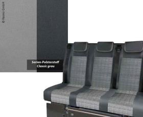 Sleeping bench VW T6/5 Trio Style V3000 Gr.8 3-seater Classic Grey Right hand dr
